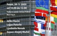 Najava – Državljanski forum v Novem mestu – 20.3.09