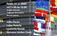 Najava – Državljanski forum v Murski Soboti 27.3.09
