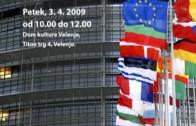 Najava – Državljanski forum v Velenju 3.4.2009