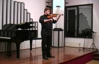 Violinski recital: Ervin Luka Sešek