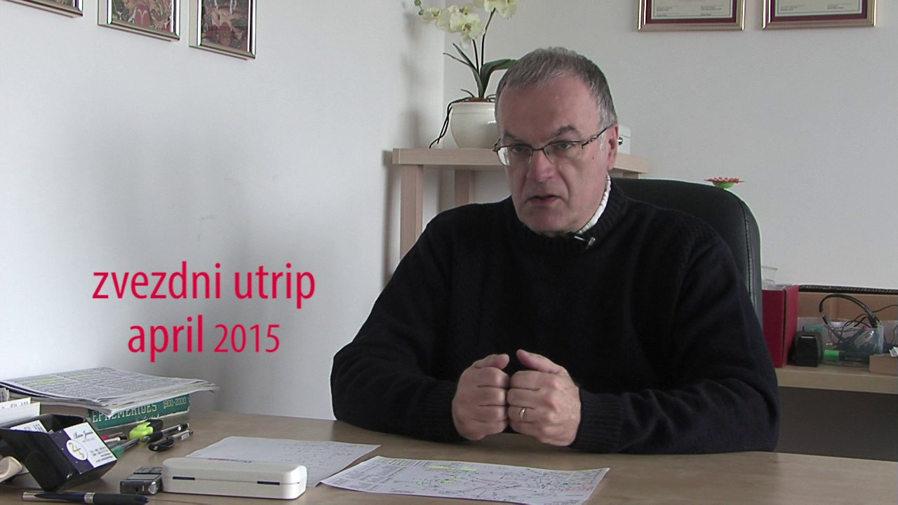 Zvezdni utrip – april 2015 – Ben Jurečič
