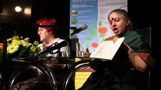 Forum za prehrano samostojnosti: Dr. Vandana Shiva – 2015 (eng/hr)