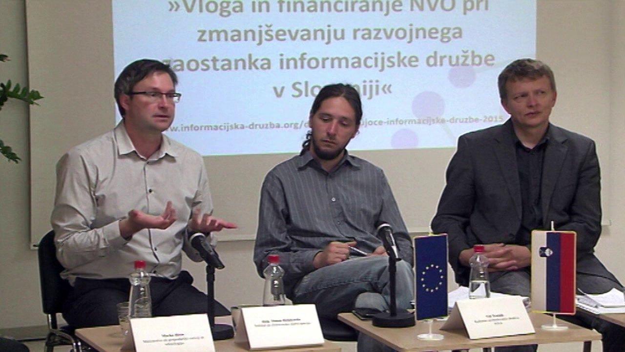 Glas skupnosti – Izziv financiranja nevladnih organizacij – Simon Delakorda