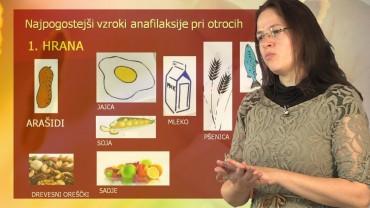 Alergije: Kako ukrepati ob anafilaksiji?